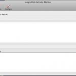 Jungledisk Screen auf Mac