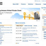 AWS Webseite
